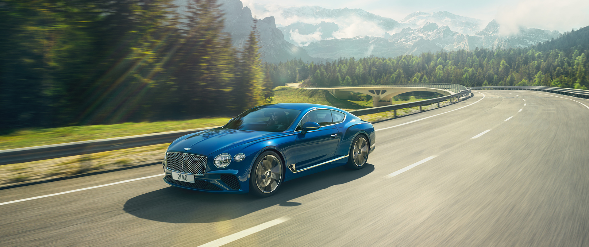 THE NEW CONTINENTAL GT TOUR 2018